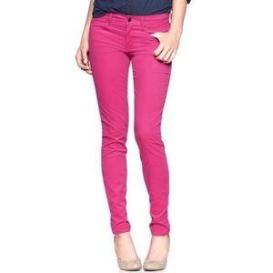 GAP 1969 Hot Pink Corduroy Legging Jean plus 32/14